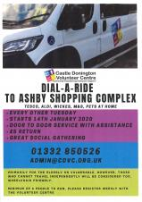 Dial a Ride - Volunteer Centre Shopping Trip