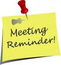 REMINDER - Parish Council Meeting